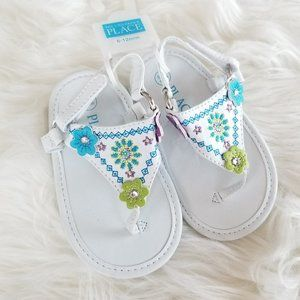 The Childrens Place   Baby Sandals Flip Flops 6-12